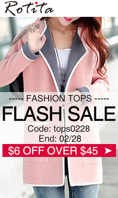 Fashion Tops Flash Sale