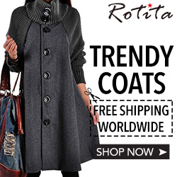 Trendy Coats, Free Shipping Worldwide