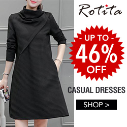 Casual Dress, Up to 46% Off