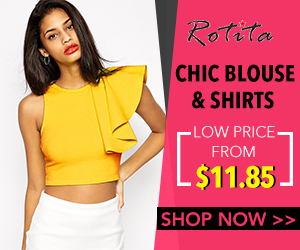 Blouse sale: chic blouse& shirts price from $11.85 form Rotita.com