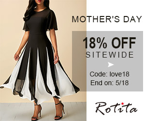 Mother's Day          18% off Sitewide          Code: love18 End on: 5/18