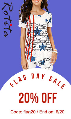 Flag Day Sale          20% Off          Code: flag20 End on: 6/20