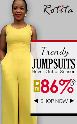 Rotita provide you jumpsuits and rompers up to 86% off.