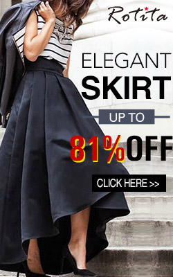 Trendy elegant skirt, up to 81% off with free shipping worldwide