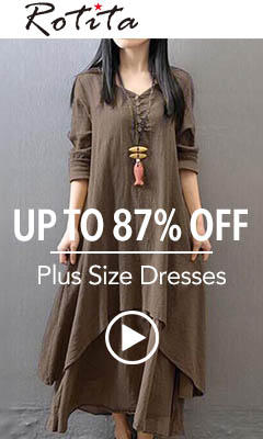 Plus Size Dresses Up to 87% Off