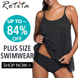 Plus size swimwear, up to 84% off