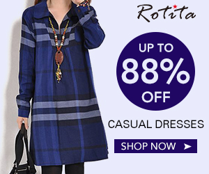 Casual Dress, up to 88% off