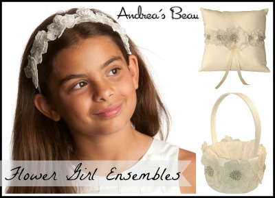 Flower Girl Baskets/Headpieces