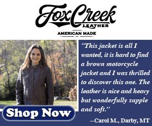 Fox Creek Leather Women's Leather Motorcycle Gear
