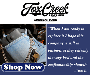 Fox Creek Leather Motorcycle Wallets