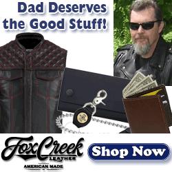 Dad Deserves Fox Creek Leather Gear