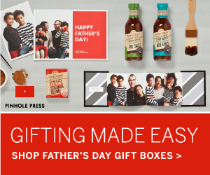 Gifting Made Easy. Shop Father's Day Gift Boxes from Pinhole Press