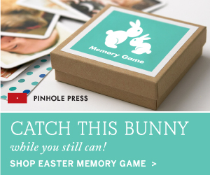Catch this bunny while you can. Shop the Easter Memory Game - perfectly sized for an Easter basket!