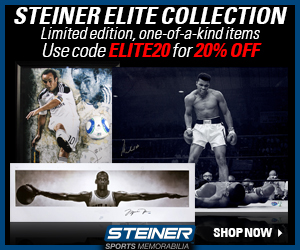 Steiner Elite Collection: 20% Off with code ELITE20 at SteinerSports.com