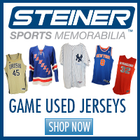 b34dc0655af Find authentic game-used jerseys at Steiner Sports!