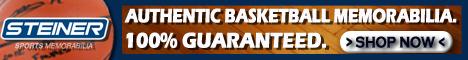 Shop Basketball Memorabilia at SteinerSports.com