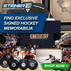 Find hockey memorabilia at SteinerSports.com