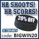 20% Off NY Rangers Memorabilia, code BIGWIN20 (468x60)