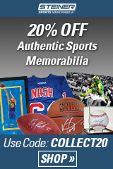 20% Off at Steiner Sports with code COLLECT20