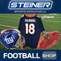 Shop Football Memorabilia at SteinerSports.com