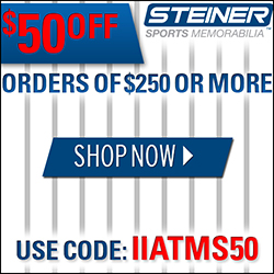 $50 Off $250+ at SteinerSports.com, code IIATMS50