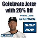 20% Off Derek Jeter Memorabilia at Steiner Sports, code SPORTS20