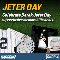 Derek Jeter Day at SteinerSports.com