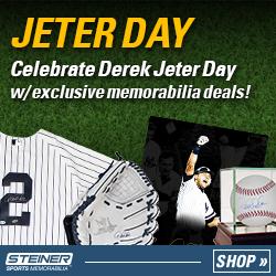 Derek Jeter Day at SteinerSports.com