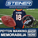 Shop Peyton Manning Memorabilia at SteinerSports.com