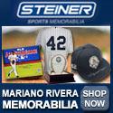 Shop Mariano Rivera Memorabilia at SteinerSports.com