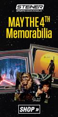 Find Exclusive Star Wars Signed Memorabilia at SteinerSports.com!