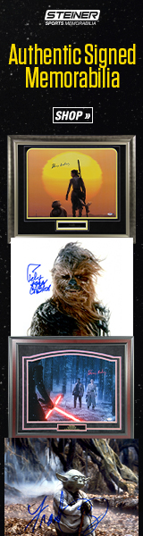 Find Exclusive Star Wars Signed Memorabilia at SteinerSports.com!