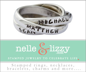 Stamped Name Rings