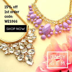 DaisyGem | Accessories - Necklaces, Earrings, Bracelets, Rings, Clutches
