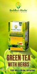green tea with herbs
