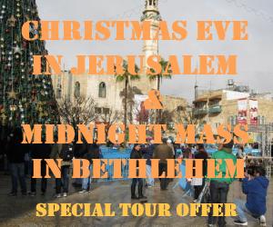 Christmas Eve Tour to Bethlehem 24 DEC 2013