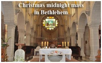 Midnight Mass in Bethlehem
