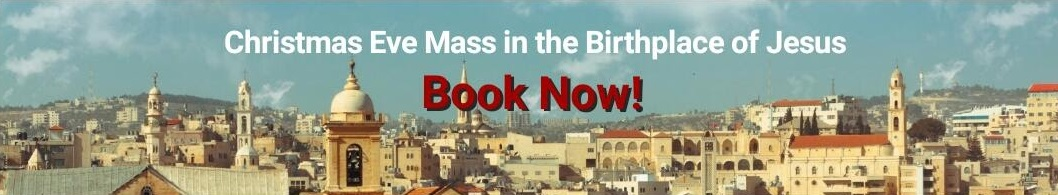 Midnight mass in Bethlehem