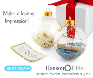 HansonEllis Wedding Favors & Invitations