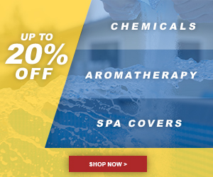 Up to 20% off Chemicals, Aromatherapy & Custom Spa Covers at Hot Tub Works! No code needed, Discount auto-applied at checkout. Valid through 7/14/19. Shop Now!