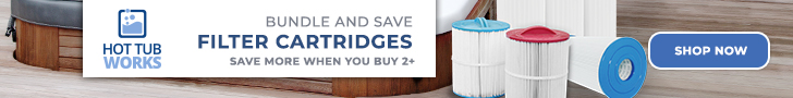 Bundle & Save at Hot Tub Works! Spa Filter Cartridges - Save More When You Buy 2+! Plus, Free Shipping on All Orders! No code needed, Discount auto-applied on site. Valid through 7/31/20. Shop Now!