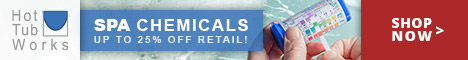 Spa Chemicals - Save Up 25% off Retail at Hot Tub Works! Shop Now!