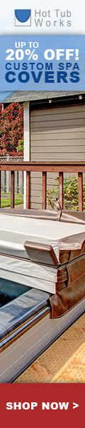 Save Up 20% off Custom Spa Covers at Hot Tub Works