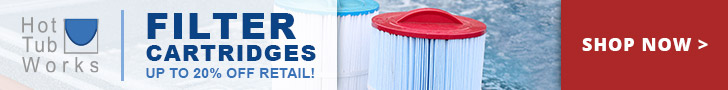 Hot Tub Filter Cartridges - Save Up 20% off Retail at Hot Tub Works! Shop Now!
