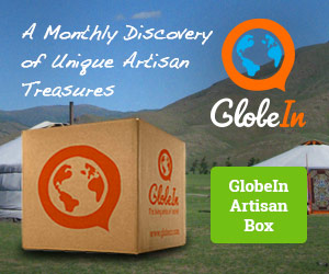 A monthly discovery of unique artisan treasures