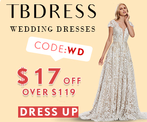 Wedding Dresses starting at 79.99 Click here to Shop at TBDress