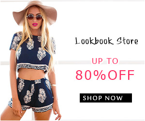 Up to 80% off at Lookbook Store