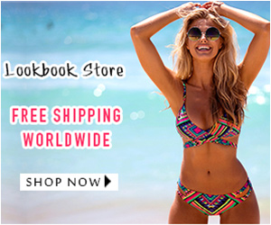 Free Shipping at Lookbook Store