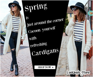 Srping Cardigans - 300x250