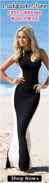 Lookbook Store Glam Maxi Dress